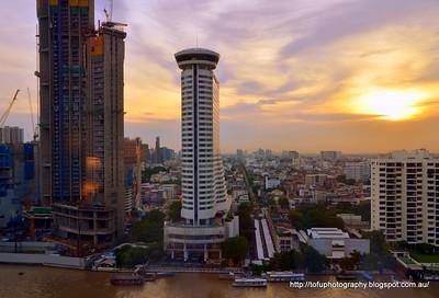 Walking in Bangkok around the Chao Praya River pt 1 - September 2017