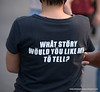 What story would you like me to tell t-shirt at Lumphini Park, Bangkok, Thailand in December 2009