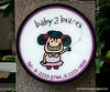 Baby 2 braces sign in Silom, Bangkok, in December 2009. It is a dental clinic