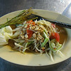 Spicy papaya salad