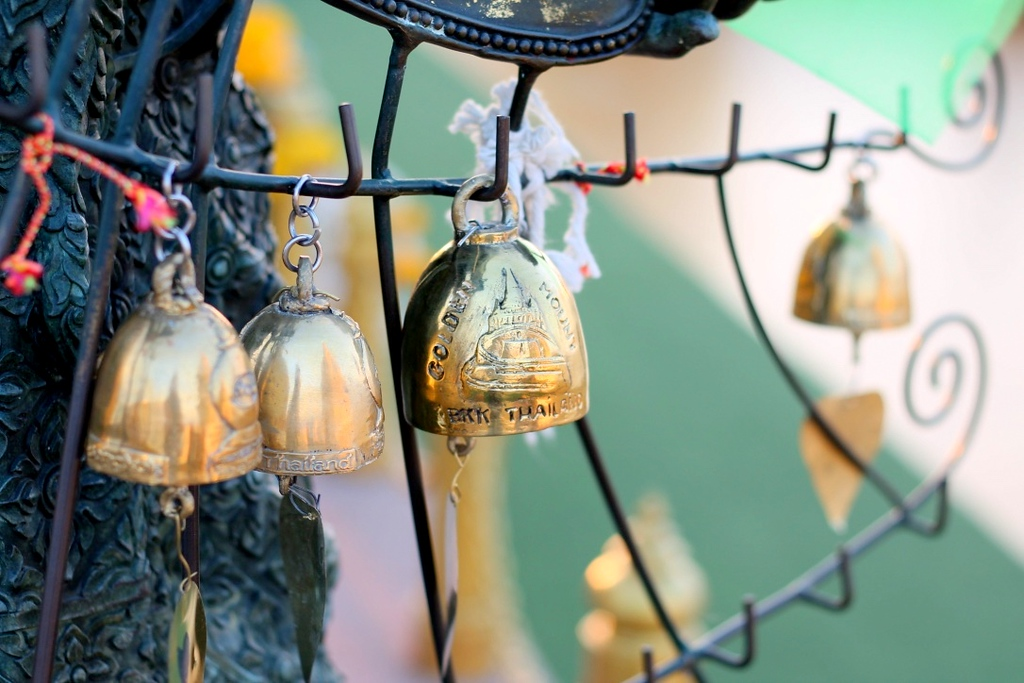 Bells at the Golden Mount in Bangkok