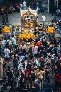 Erawan Shrine in Bangkok.