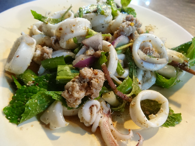 cuttlefish salad