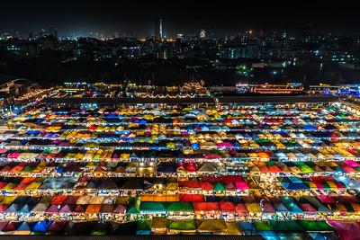 Rot Fai Night Market at Ratchada.
