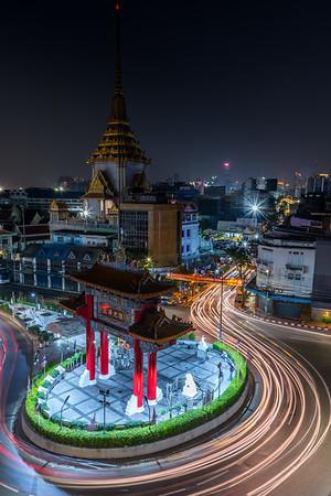 Chinatown Gate in Bangkok.