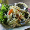 Crab & Papaya salad