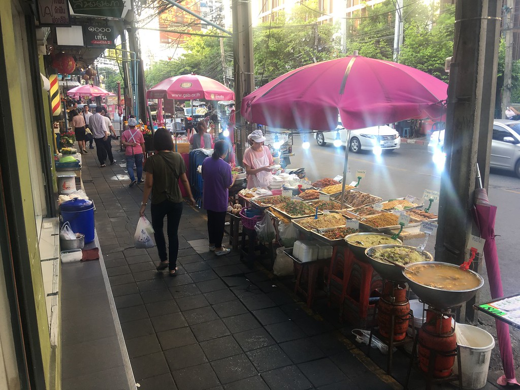 Street food on Soi Ari, Bangkok