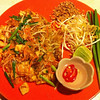 A beautifully served Pad Thai at a little roadside restaurant in Klong Dao on Koh Lanta