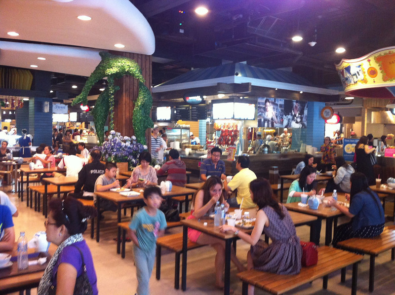 Seating Area, Terminal 21 Food Court, Bangkok