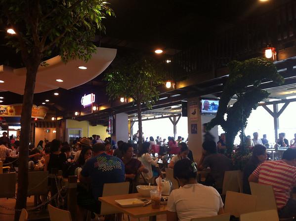 Seating Area, Terminal 21 Food Court, Bangkok