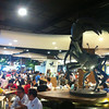Seating Area with Giant Killer Crab Statue, Terminal 21 Food Court, Bangkok