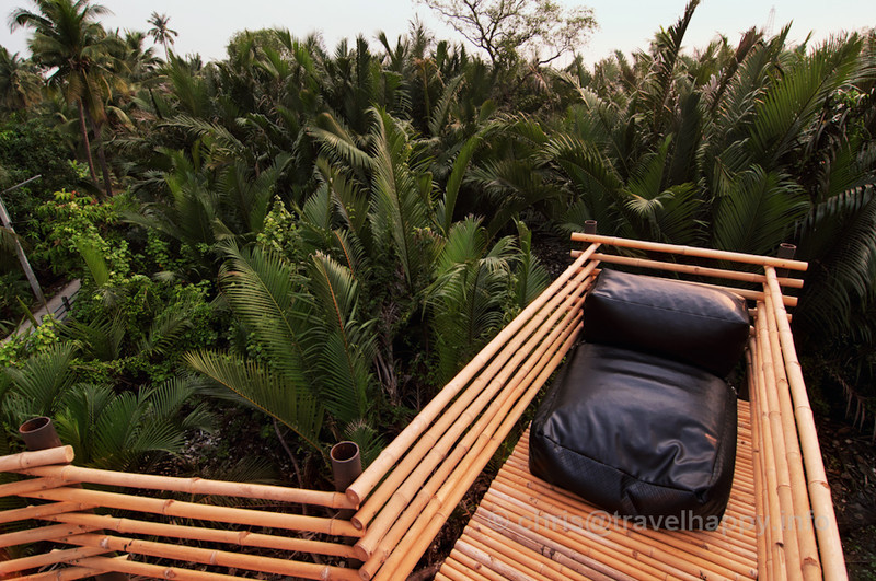 Viewpoint Over The Treetops, Bangkok Tree House Hotel