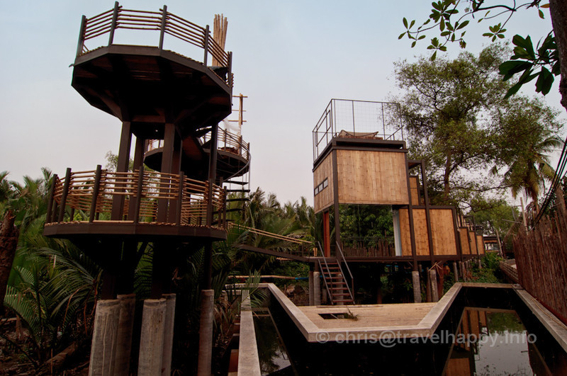 View With A Room Balcony and Room Exterior overlooking Natural Swimming Pool, Bangkok Tree House Hotel