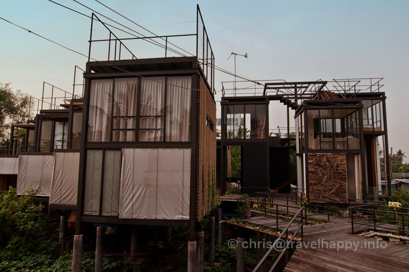 Room Exteriors at Bangkok Tree House Hotel