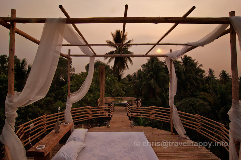 View With A Room Outdoors Bedroom at Sunset, Bangkok Tree House Hotel