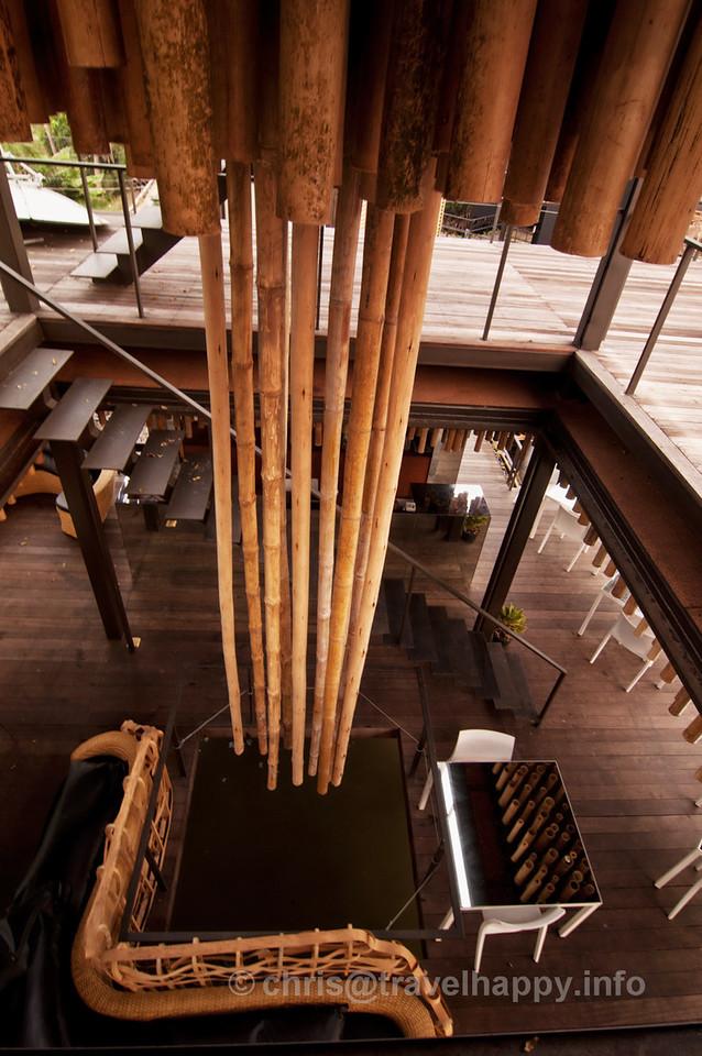 Reflect Restaurant Interior, Bangkok Tree House Hotel
