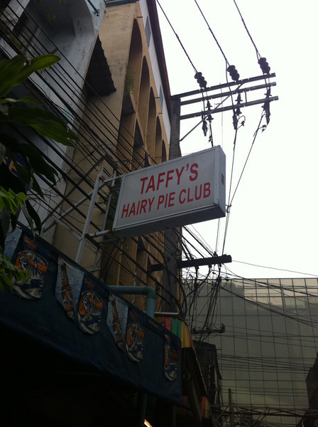 Taffy's Hairy Pie Club, Bangkok
