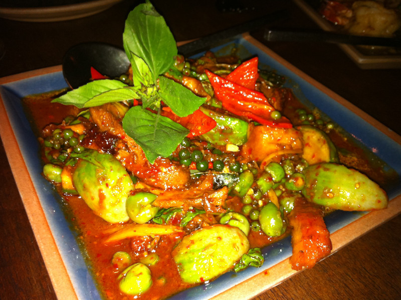 Thai Food at Face Restaurant, Sukhumvit 38, Bangkok