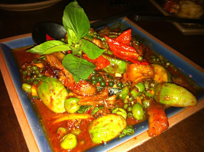 Thai Food at Face Restaurant, Sukhumvit 38, Bangkok