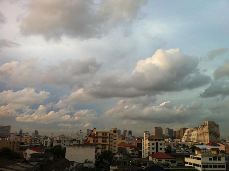 Cloudscape from my Bangkok balcony