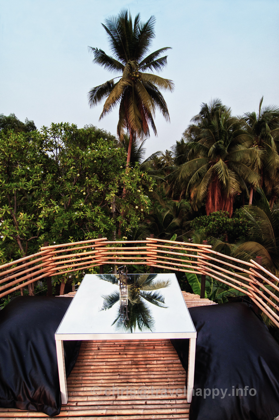 Tabletop Over The Treetops, Bangkok Tree House Hotel