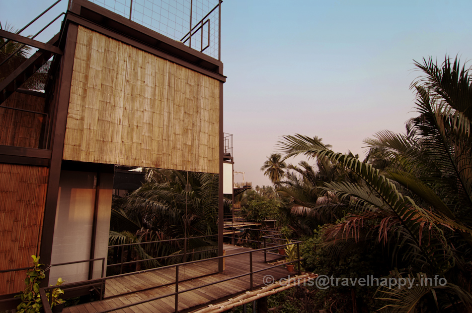 Room Exterior, Walkway and Jungle canopy, Bangkok Tree House Hotel