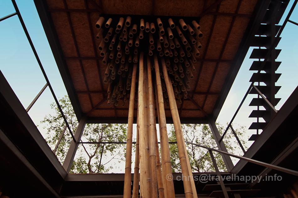 Reflect Restaurant Roof Interior, Bangkok Tree House Hotel