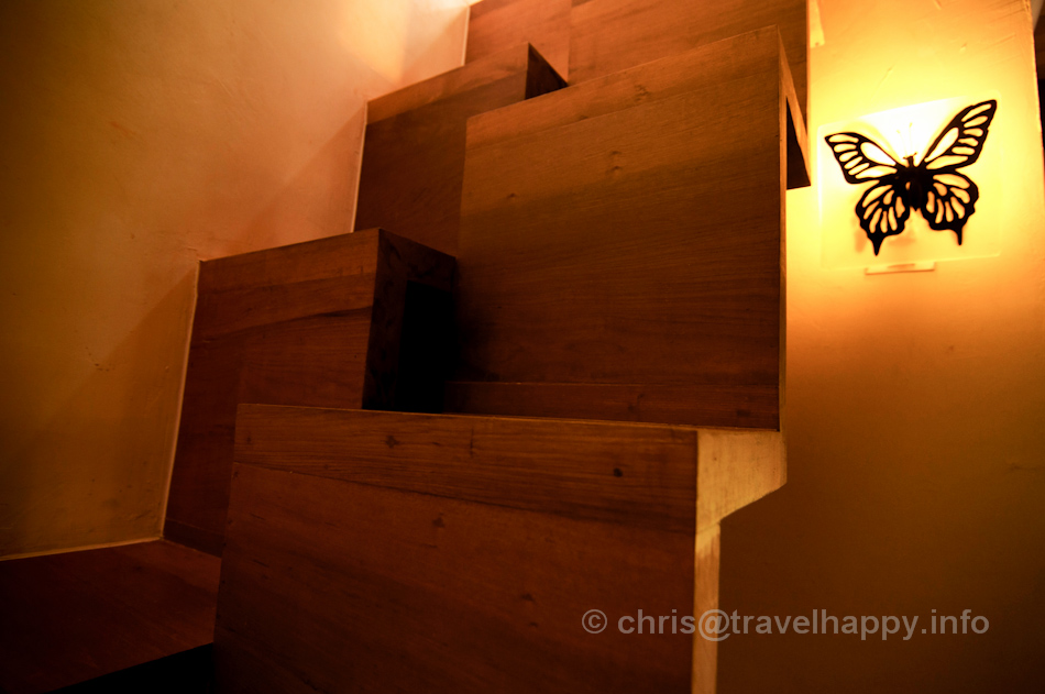 Interior Staircase, Bangkok Tree House Hotel