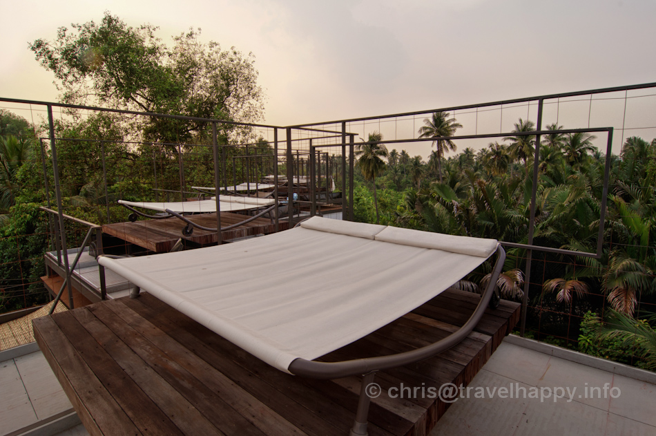 Room Rooftop Stargazing and Sunbathing Bed, Bangkok Tree House Hotel