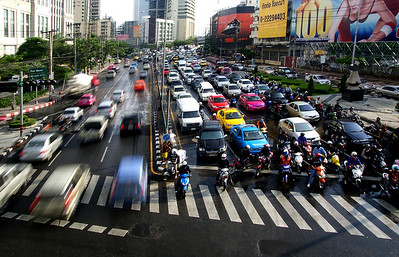 Your Guide To Bangkok Traffic, image copyright Bernard Spragg