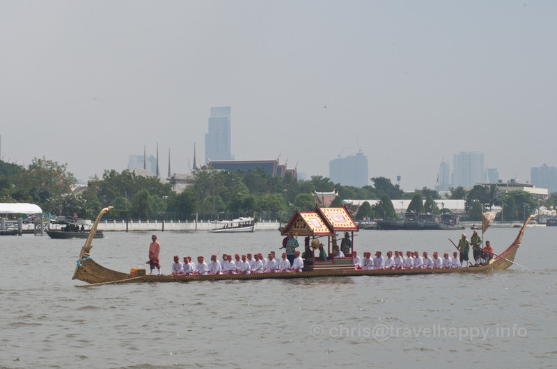 Ekachai Hern How Barge, Royal Barges Procession, Bangkok, Thailand 6 November 2012