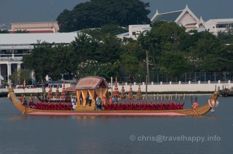 Royal Barges Procession, Bangkok, Thailand 6 November 2012