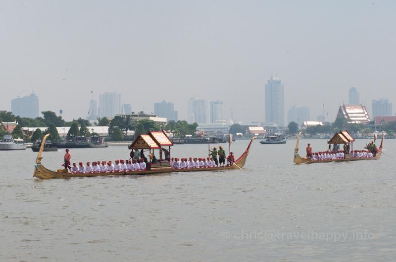 Ekachai Hern How Barges, Royal Barges Procession, Bangkok, Thailand 6 November 2012