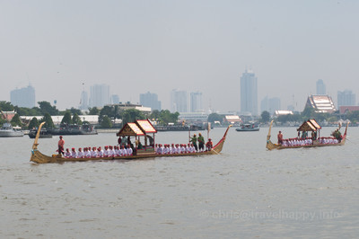 Ekachai Hern How Barges, Royal Barges Procession, Bangkok, Thailand 6 November 2012