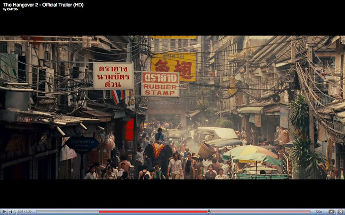 Soi Phiphaysa 1, Chinatown, Bangkok   - The Hangover Part 2