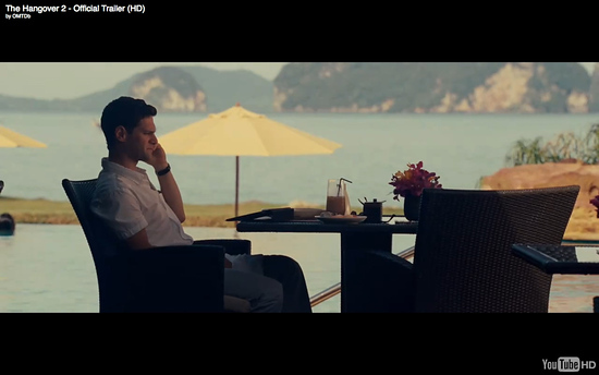 Phulay Bay Ritz Carlton Krabi Hotel, as featured in The Hangover Part 2