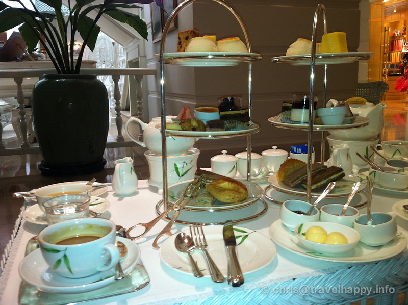 Afternoon Tea at the Authors Lounge, Mandarin Oriental hotel, Bangkok