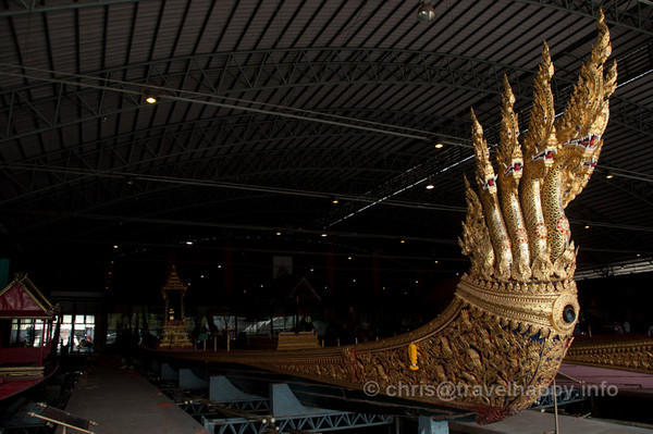 Anantanakkharat (Ananta, Kings Of The Serpents), Royal Barges Museum, Bangkok