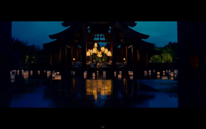 """Phulay Bay Ritz Carlton Hotel Krabi at night  - The Hangover Part 2. Get the full story and location map at Travelhappy's <a href=""""http://travelhappy.info/thailand/the-hangover-part-2-visit-the-thailand-locations-from-the-movie/"""">Hangover Part 2 Bangkok Location Guide</a>"""