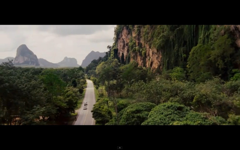 """Krabi mountains and road - The Hangover Part 2. Get the full story and location map at Travelhappy's <a href=""""http://travelhappy.info/thailand/the-hangover-part-2-visit-the-thailand-locations-from-the-movie/"""">Hangover Part 2 Bangkok Location Guide</a>"""