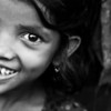 A girl living in a slum in Banani, Dhaka.