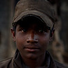 A boy who works as a contracted labour in a shipbreaking yard in Chittagong. He features in this exhibit because he is around 15-16 years old.