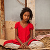 A girl who lives in a slum in Gulshan, Dhaka.