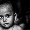 A boy who lives in a slum in Banani, Dhaka.