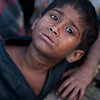 Boy in a slum in Dhaka