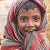 A girl who lives half of her life on a brick kiln site in Savar outside Dhaka city,