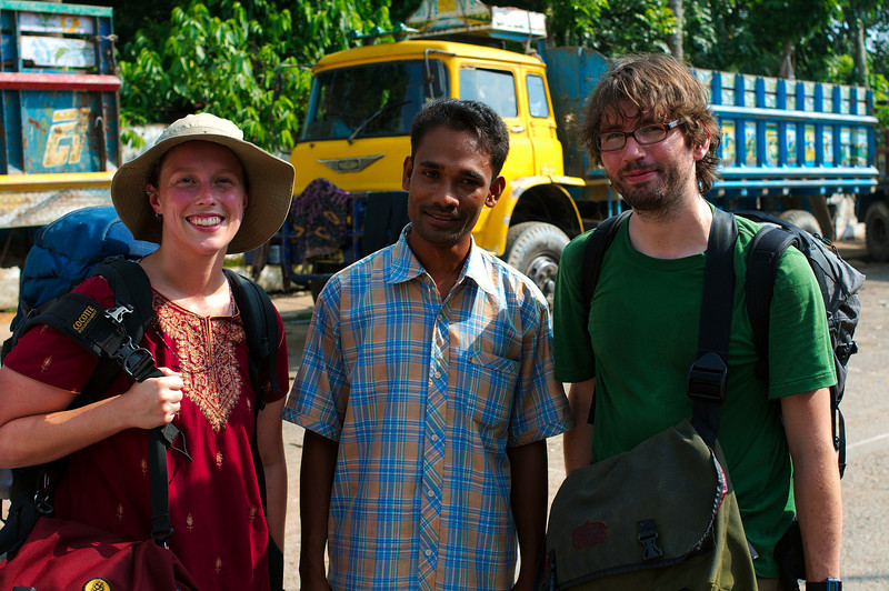 Emilie and Yann parting ways with the amazing Suman