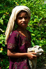 A young girl from Hafeez Ghona