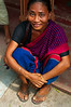 Beautiful local Chakma woman
