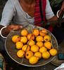Weighing lemons